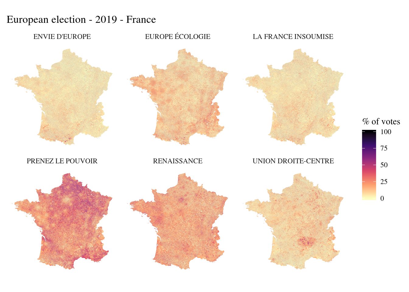 The new french election geography